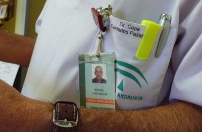 Dr Cepa, médico de Cuidados Paliativos